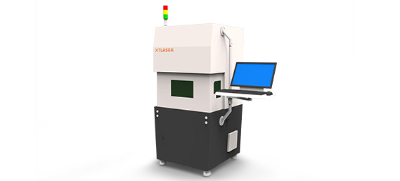 Fiber Laser Marking Machine with protective cover