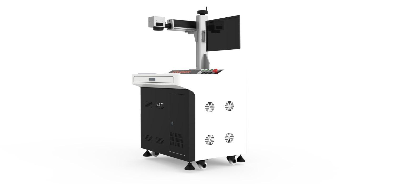 Desktop integrated fiber laser marking machine