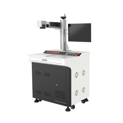 Operating of fiber laser marking machine