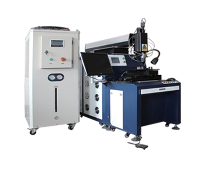 Universal and continuous laser welding machines