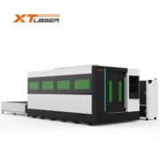 Stainless steel fiber metal laser cutting machine