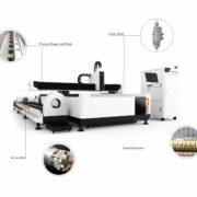 Good cutting quality of fiber laser cutter