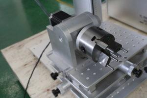 rotary device fiber laser jewelry marking