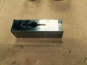 metal pipe fiber laser cutting machine samples