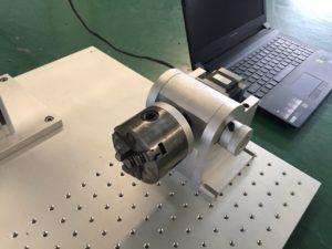 rotary device of fiber laser marking