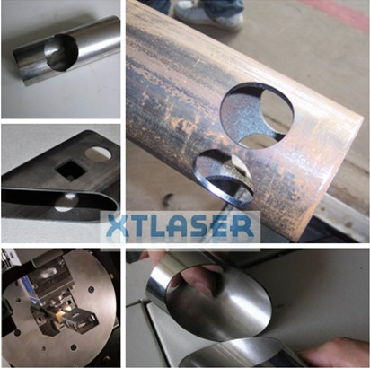 Tube Fiber Laser Cutting Machine Pipe Fiber Laser Cutting