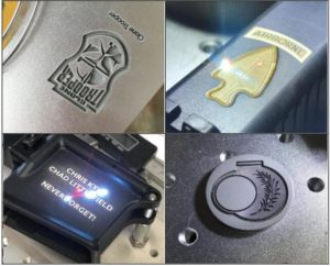 Fiber Laser Engraving on Firearms