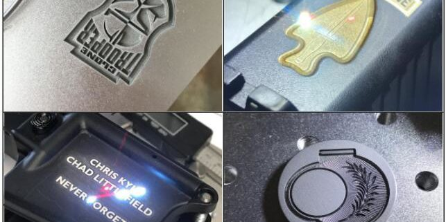 Fiber Laser Engraving on Firearms