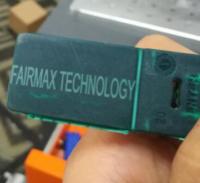 sealed plastic sample