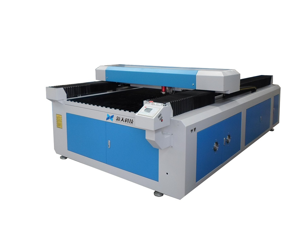 CO2 laser engraving machine introduce power platform acrylic and leather