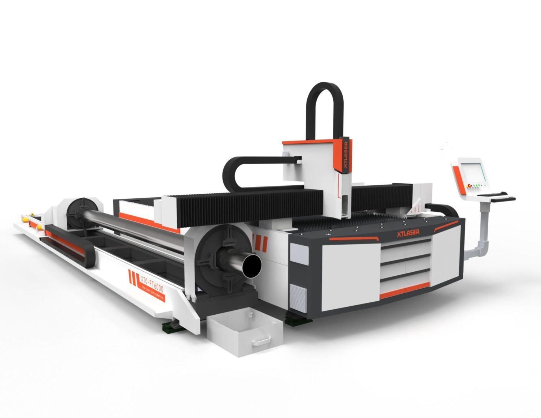 Plate Amp Tube Fiber Laser Cutter For Steel Xt Laser