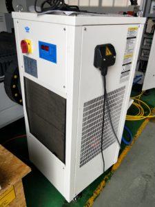fiber laser cutter machine water chiller