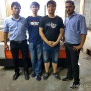 fiber laser cutting machine training
