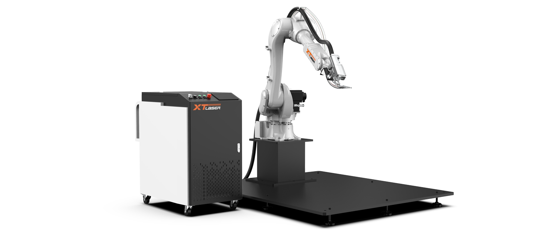 Robotic arm laser cleaning machine-Nancy