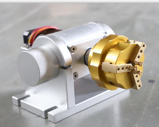 Rings fiber laser engraving machine