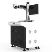 Jewelry laser cutting machine using tips